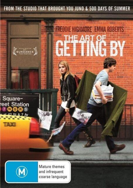 Ex rental The Art Of Getting By (DVD, 2012) Freddie Highmore, Emma Roberts