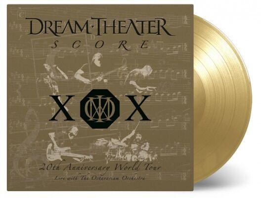 Dream Theater – Score (20th Anniversary World Tour) 4 LP's GOLD VINYL # 107