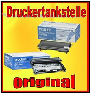 Original Brother Drum Toner DR-2000 TN-2000 Fax 2920 Lenovo Lj 6561 8/12ft3020