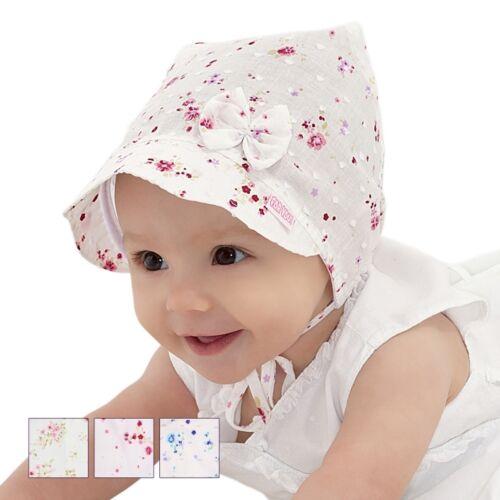 Summer baby hat children hat for little girl 2-3 months size 38