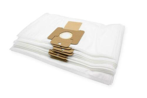 10x Dust bags microfibre for Nilfisk 120 WD 135 WD 200 WD 215 WD