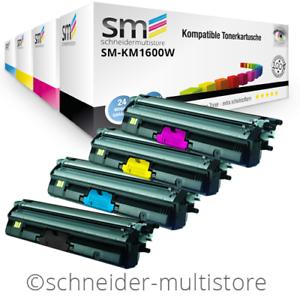 4 XXL Toner kompatibel für Konica Minolta Magicolor 1600W 1650 EN 1680MF 1690MF