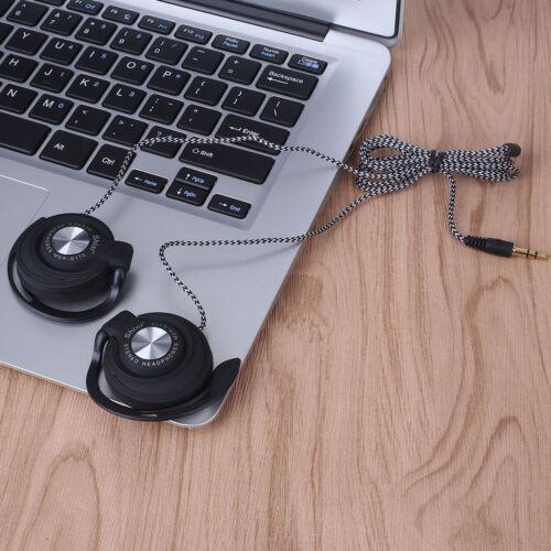 B5BF Verdrahtete Klipp auf Ohr-Sport-Kopfhörer EarHook Kopfhörer für Mp3 Spieler