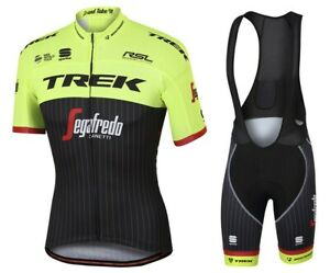 UK SELLER Team Specialized Design Cycling Jersey and Bib Shorts Set