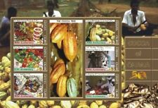 Ghana - Cocoa Beverages Stamp Sheet of 6 MNH