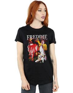 Mujer Camiseta Homage Fit De Del Novio Queen Detalles Freddie Mercury LUVMpqzSG