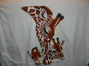 GIRAFFE-MOMMY-AND-BABIES-SO-SWEET-JERZEES-Sweatshirt-Sizes-THE-BEST-S-TO-4XL
