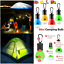 5pcs Portable Ultra Bright Camping Tent Light Bulb 3 LED Hanging Lantern Lamp YY