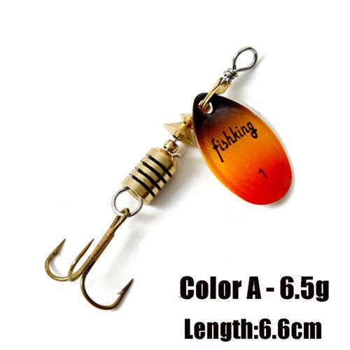 köder löffel spinner metall dauerhafte pailletten fischerei locken sie haken