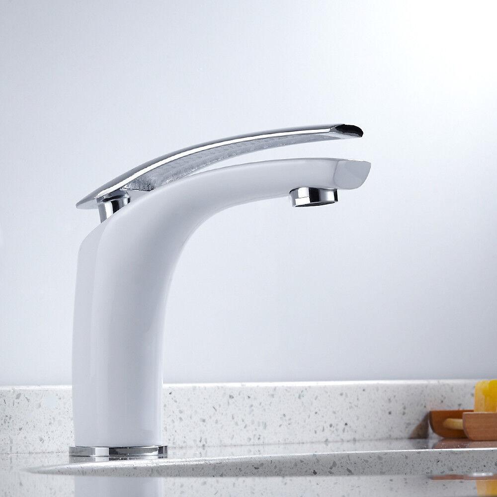 Design Wasserarmatur Waschtischarmatur Wasserhahn Mischbatterie Badezimmer Weiß   Online Outlet Shop    Modernes Design    Öffnen Sie das Interesse und die Innovation Ihres Kindes, aber auch die Unschuld von Kindern, kindlich, glücklich    Realistisch