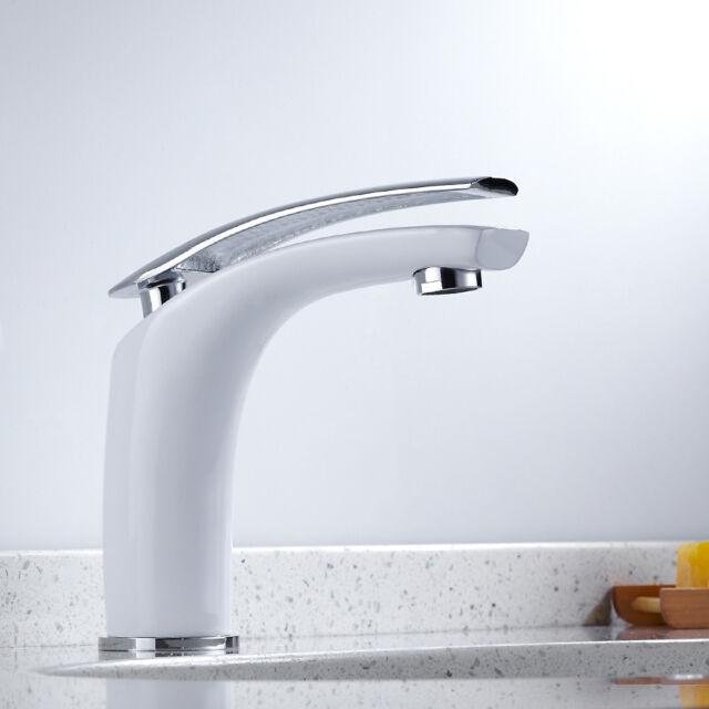 Modern Bathroom Basin Sink Mixer Tap Chrome Waterfall  bar taps Brass Faucet