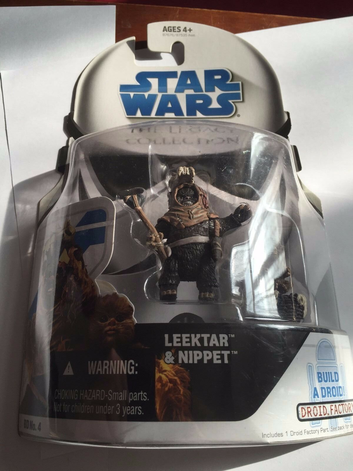 Star Wars  The Legacy Collection  Leektar & Nippet Action Figure (BD No.4)
