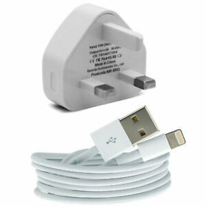 New-Genuine-CE-Charger-Plug-amp-USB-Sync-Cable-for-Apple-iPad-iPhone-5-S-6-7-Plus
