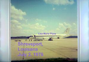 ELVIS-PRESLEY-LISA-MARIE-PLANE-TCB-LOGO-7-2-76-SHREVEPORT-LA-5X5-PHOTO-CANDID-2