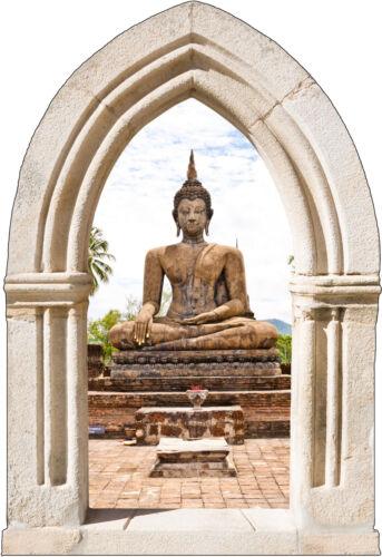 Wandsticker Schein Auge Bogen Deko Buddha ref 903