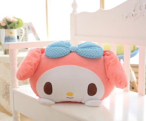 My melody blue bowknot stuffed plush pillow cushion cute pillows new