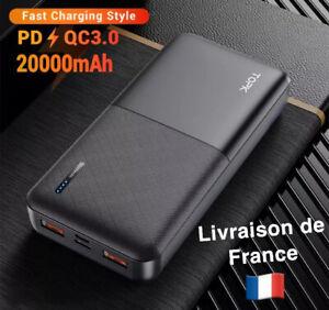 batterie externe 20000mah Recharge Rapide
