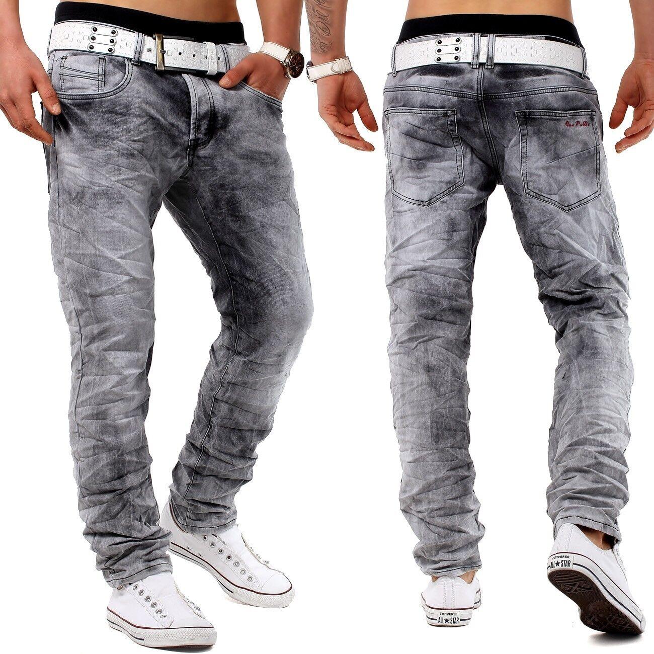 JOGGDenim Jeans Leyenda Diseñador Denim Slim Fit Club Wear Stretch
