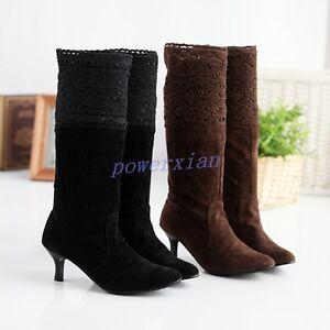 Womens Sluch Ladies Mid Calf Boots