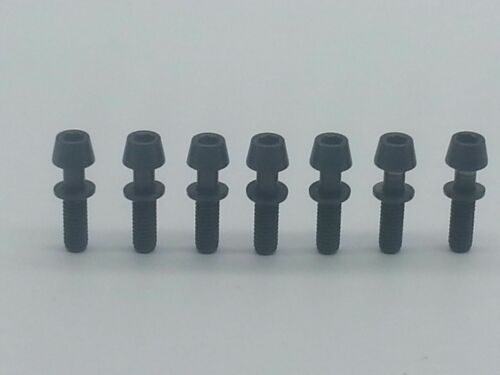7X Titanium Ti Ritchey C260 Superlogic Carbon Matrix WCS Stem Screws Bolt Black