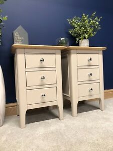Bedside Cabinets Painted Lamp Tables