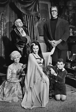 """The Munsters Poster 13x19"""" Quality Black And White Print"""