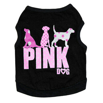 Pet Puppy Summer Shirt Vest Small Dog Cat Pet Clothes Costume Apparel T-Shirt