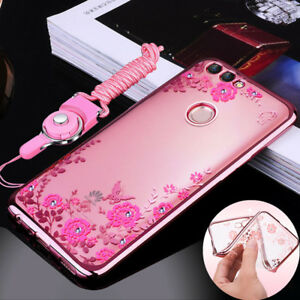 the latest 863db 822a2 Details about Fr Huawei P Smart/P20 Lite/Y7 Prime 2018 Bling Glitter Soft  Gel Phone Cover Case
