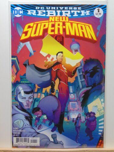 Universe Comics CB4198 New Superman #1 Rebirth D.C
