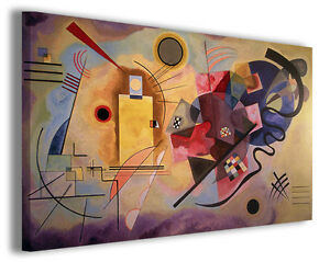 Quadro Wassily Kandinsky vol VII Quadri famosi Stampe su tela ...