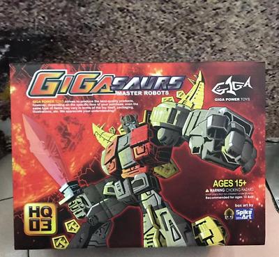 Gigapower GP HQ03R HQ-03R Gutter Electroplate snarl Masterpiece Figure Preorder
