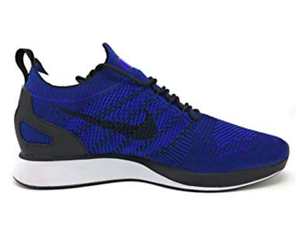 Nike Air Zoom Shoes Mariah Flyknit Racer Running Shoes Zoom Mens 10 Black Blue 918264 007 5adcaf
