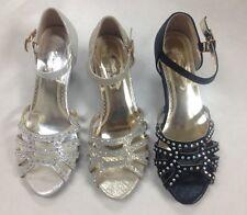 HL1 Women Ballroom Dance Salsa Latin Tango Cha Cha Prom Bridal waltz shoes