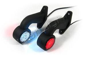 LED-Umrissleuchten-Trailer-Positionsleuchte-LKW-Begrenzungsleuchten-24V-12V