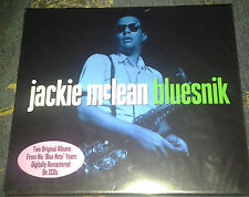 """JACKIE MCLEAN """"BLUESNIK"""": 2CD SET ALSO CONTAINS """"CAPUCHIN SWING"""". NEW AND SEALED"""