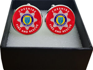 A Great Gift Kent Fire and Rescue Cufflinks