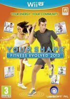 Nintendo Wii U Your Shape Fitness Evolved 2013 Spiel Für Nintendo Wiiu Neu