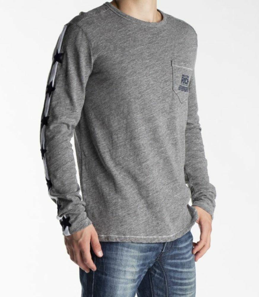 Better Rich Men's Long Sleeve Star Shirt SIZE S to XXL   Wow