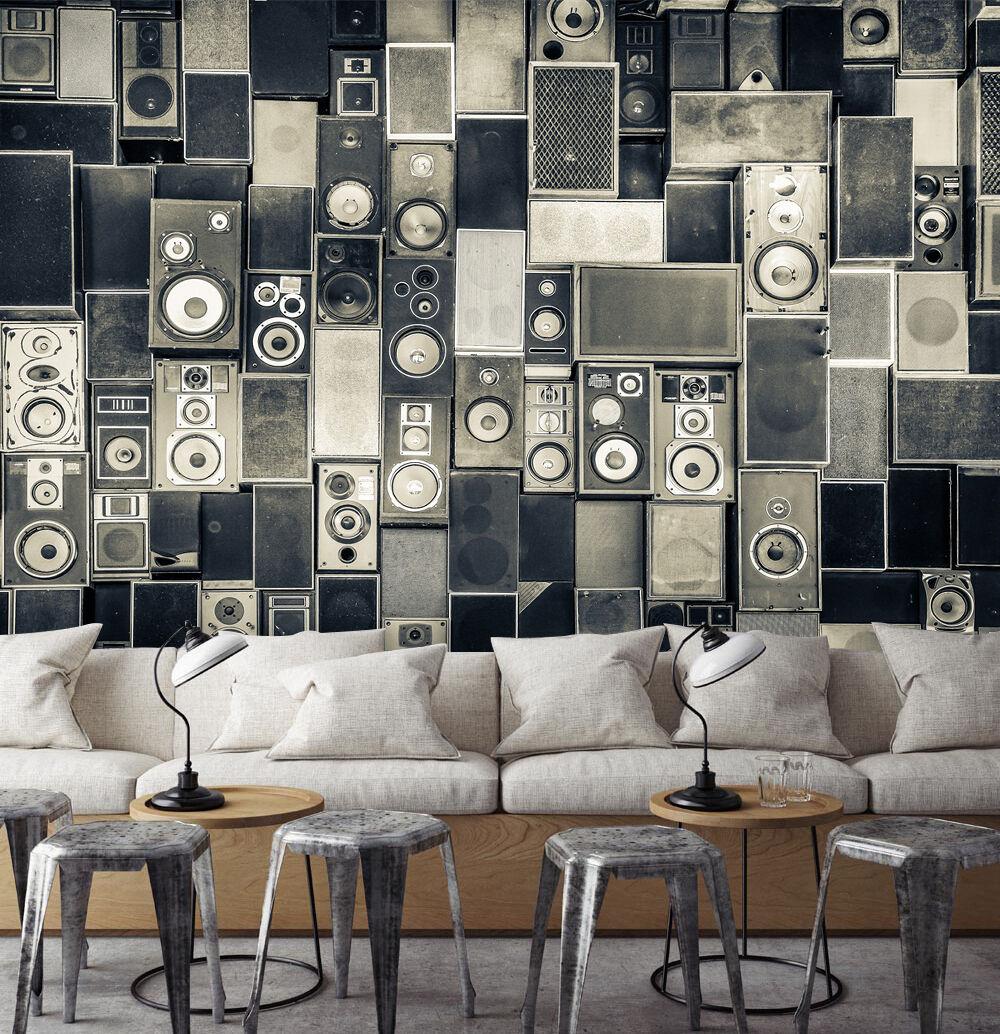 3D Suono 096 Parete Murale Foto Carta da parati immagine sfondo muro stampa