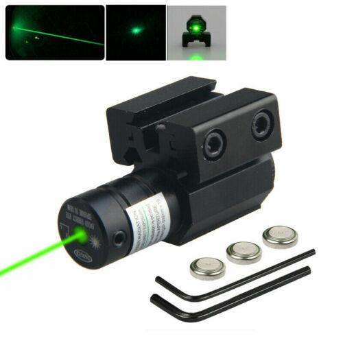 Red//Green Laser Beam Dot Sight Scope For Gun Pistol 11//20mm Picatinny Rail Mount