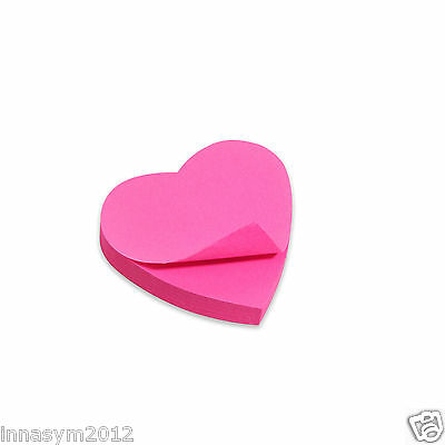 120 Sheets Sticky Notes 7 x 7 cm post it HEART