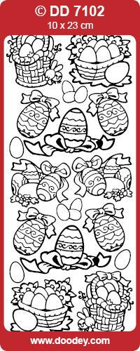 Peel offs Easter