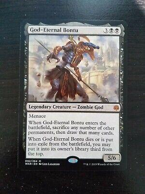 English War of the Spark MTG Magic 1x God-Eternal Rhonas NM-Mint