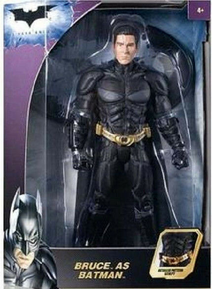 BATMAN_BRUCE as BATMAN 12   figure_Variant Exclusive Limited Edition_New and MIP