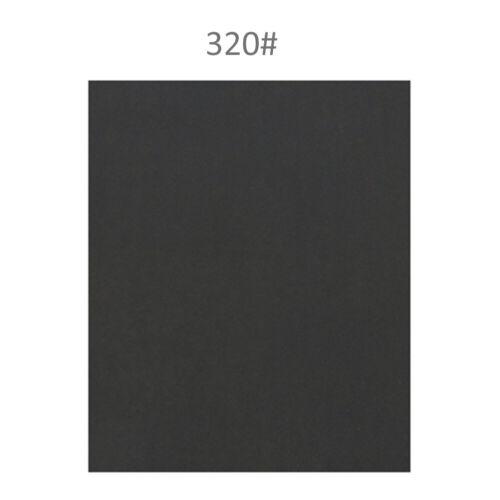 """9x11/"""" 60-2000 Grit Waterproof Wet Dry Kraft Sandpaper Grinding Abrasive Paper B"""