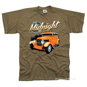 1000-Camiseta-Vintage-Hot-Rod-Oldtimer-motivo-coche-ROCKABILLY-COCHE-Kustom