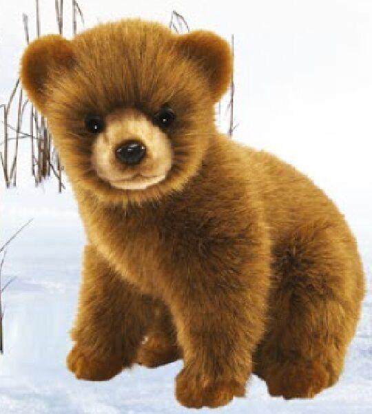 Brown Bear 24 cm Soft Toy Stuffed Animal Toy Hansa Toy 7037