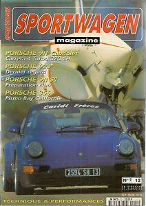 SPORTWAGEN 12 PORSCHE 911 C4 TURBO CABRIOLET 928 GTS 968 CS CLUBSPORT 911 SC
