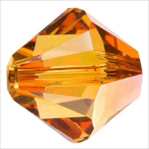 Lot de 40 perles Toupies SWAROVSKI 4mm Crystal Astral Pink