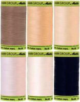 Mettler Cotton Thread Silk Finish 60 Weight 2 Ply 170d 800 Meters/875 Yards